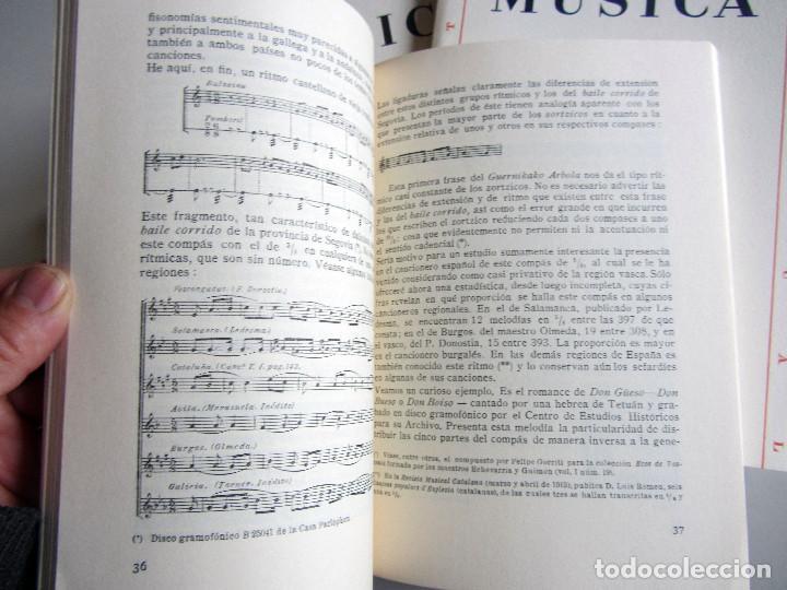 Libros de segunda mano: Revista MUSICA (Facsimil) Residencia de estudiantes. 5 numeros con estuche. 1938 - Foto 6 - 196641127