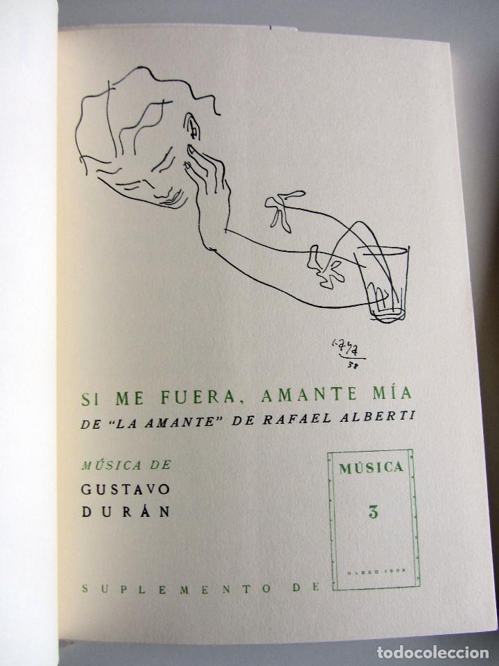 Libros de segunda mano: Revista MUSICA (Facsimil) Residencia de estudiantes. 5 numeros con estuche. 1938 - Foto 11 - 196641127