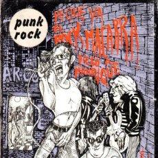 Libri di seconda mano: DE QUÉ VA EL ROCK MACARRA. PUNK ROCK. MANRIQUE, DIEGO [ED. LA PIQUETA, 1977]. Lote 231471390