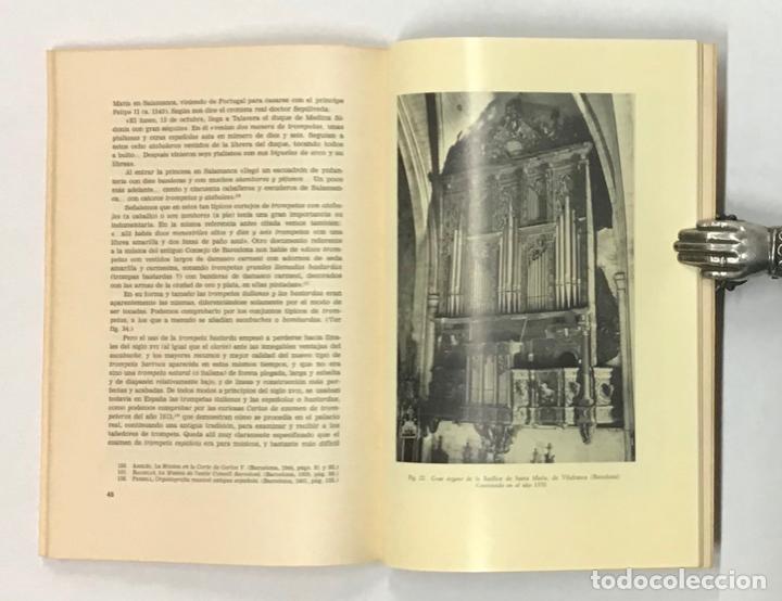 Libros de segunda mano: LOS INSTRUMENTOS MUSICALES EN LA ESPAÑA RENACENTISTA. - Foto 4 - 196782625