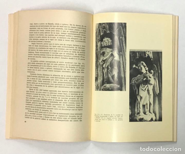 Libros de segunda mano: LOS INSTRUMENTOS MUSICALES EN LA ESPAÑA RENACENTISTA. - Foto 5 - 196782625