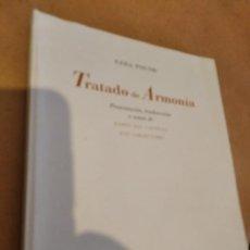 Libros de segunda mano: TRATADO DE ARMONÍA / EZRA POUND / ELEUVE MÚSICA Y LETRAS. Lote 164133110