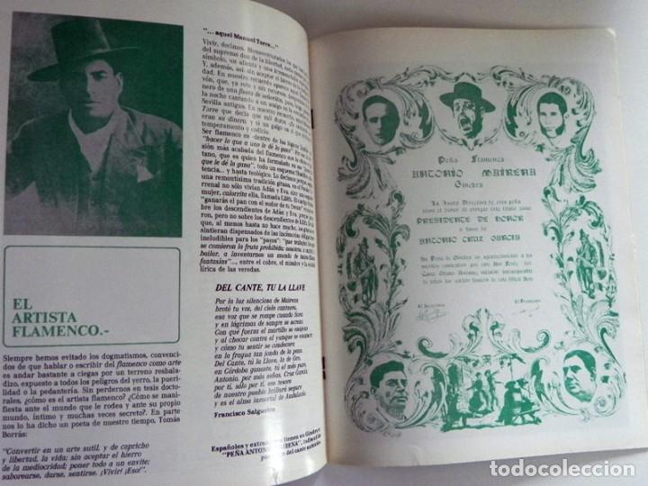Libros de segunda mano: FASCÍCULOS ANTOLOGÍA DEL CANTE FLAMENCO RETABLO 1 2 3 4 - NO VENDO LIBRO - SABICAS PACO DE LUCÍA ETC - Foto 7 - 198309592