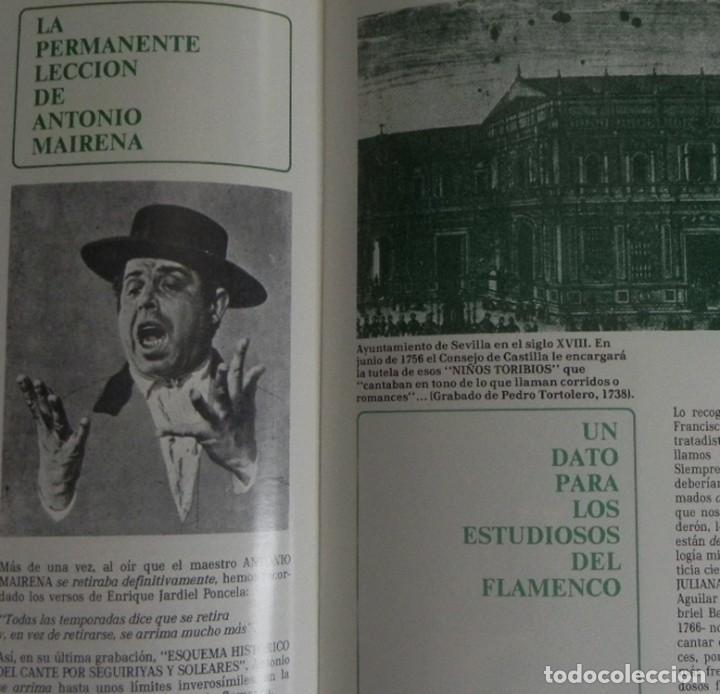 Libros de segunda mano: FASCÍCULOS ANTOLOGÍA DEL CANTE FLAMENCO RETABLO 1 2 3 4 - NO VENDO LIBRO - SABICAS PACO DE LUCÍA ETC - Foto 10 - 198309592