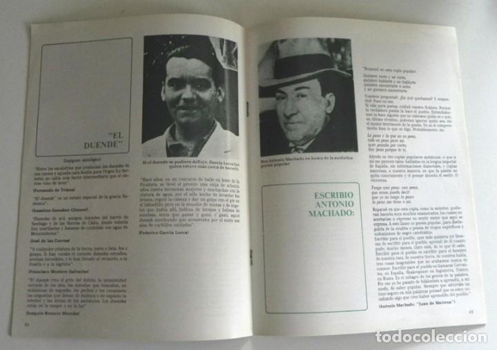 Libros de segunda mano: FASCÍCULOS ANTOLOGÍA DEL CANTE FLAMENCO RETABLO 1 2 3 4 - NO VENDO LIBRO - SABICAS PACO DE LUCÍA ETC - Foto 12 - 198309592