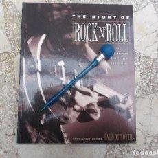 Libros de segunda mano: THE STORY OF ROCK ´N´ROLL, PAUL DU NOYER, EN INGLES,MBS, MUCHAS FOTOS 1950-1990, . Lote 198716561