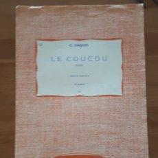 Libros de segunda mano: PARTITURA PARA PIANO LE COUCOU. F. DAQUIN.. Lote 198956250