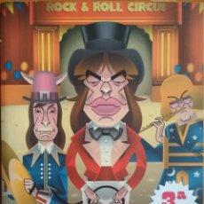 Libros de segunda mano: EL GRAN CIRCO DEL ROCK (XAVIER VALIÑO). Lote 199301705
