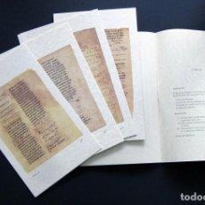 Libros de segunda mano: PERGAMINOS LITÚRGICO-MUSICALES DEL ARCHIVO MUNICIPAL AYUNTAMIENTO DE OVIEDO – ÁNGEL MEDINA 1994. Lote 200867598