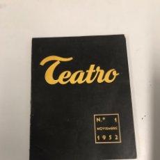 Libros de segunda mano: TEATRO. Lote 201181295