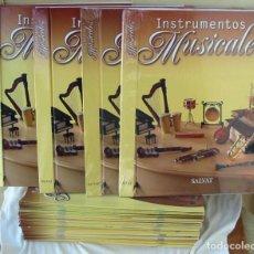Libros de segunda mano: INSTRUMENTOS MUSICALES - COMPLETA 4 TOMOS - SALVAT 2009 - VER INDICES, FOTOS Y DESCRIPCIÓN. Lote 203757673