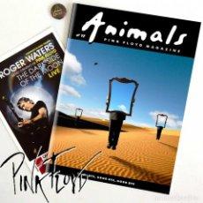 Libros de segunda mano: LOTE 1 FANZINE PINK FLOYD ESPAÑOL - PIN REGALO Y MINI CARTEL GIRA. Lote 203846332