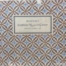 Libros de segunda mano: MOZART SYPHONY N.º 40 IN G MINOR. EDITADO POR PENGUIN BOOKS, 1950. Lote 204616078