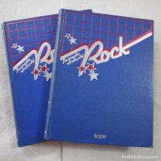 Libros de segunda mano: LAS GRANDES ESTRELLAS DEL ROCK VOLUMEN I Y II - SARPE - 1982. Lote 205170473