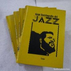 Libros de segunda mano: GRAN ENCICLOPEDIA DE JAZZ 4 TOMOS - SARPE - 1980. Lote 205173888