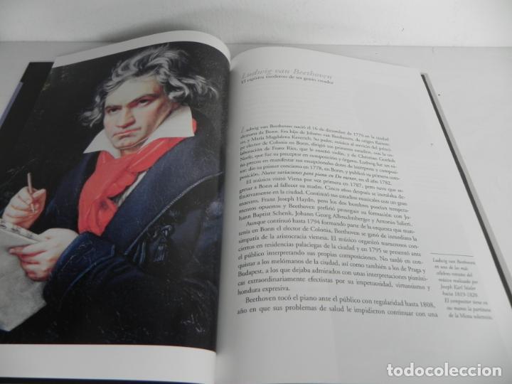 Libros de segunda mano: BEETHOVEN (SINFONIAS Nº 5,6 PASTORAL y 9 CORAL) GRAN SELECCIÓN DEUTSCHE GRAMMOPHON) + 2 CD - Foto 2 - 205692177