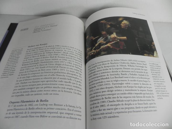 Libros de segunda mano: BEETHOVEN (SINFONIAS Nº 5,6 PASTORAL y 9 CORAL) GRAN SELECCIÓN DEUTSCHE GRAMMOPHON) + 2 CD - Foto 4 - 205692177