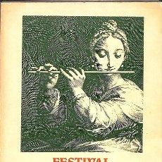 Libros de segunda mano: FESTIVAL INTERNACIONAL DE MÚSICA DE BARCELONA - OCTUBRE 1984 (CATALÁN). Lote 206129617