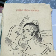 Libros de segunda mano: FLAMENCO, COPLAS Y TONAS. CURRO IÑIGO MATEOS.. Lote 206812866