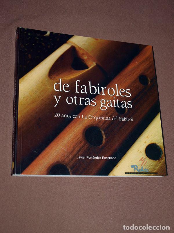 DE FABIROLES Y OTRAS GAITAS. 20 AÑOS CON LA ORQUESTINA DEL FABIROL. JAVIER FERRÁNDEZ ESCRIBANO ROLDE (Libros de Segunda Mano - Bellas artes, ocio y coleccionismo - Música)