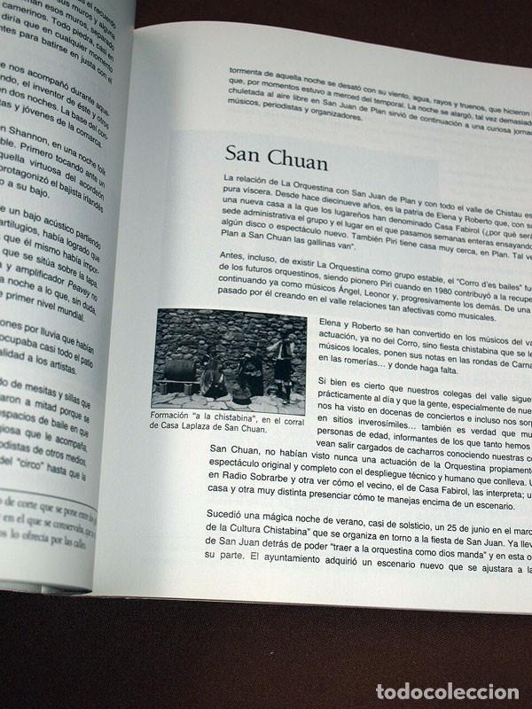 Libros de segunda mano: DE FABIROLES Y OTRAS GAITAS. 20 AÑOS CON LA ORQUESTINA DEL FABIROL. Javier FERRÁNDEZ ESCRIBANO Rolde - Foto 7 - 207007206