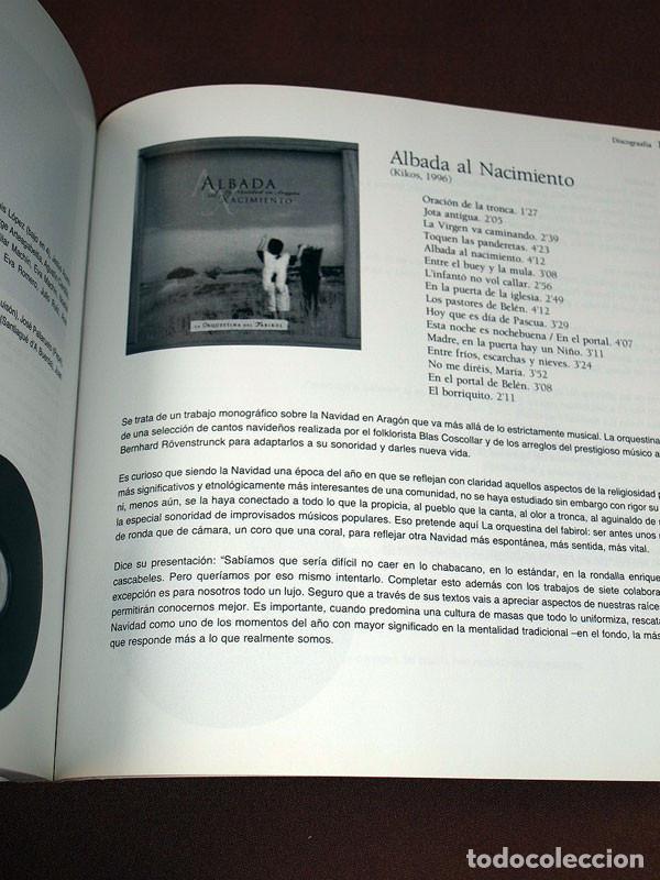 Libros de segunda mano: DE FABIROLES Y OTRAS GAITAS. 20 AÑOS CON LA ORQUESTINA DEL FABIROL. Javier FERRÁNDEZ ESCRIBANO Rolde - Foto 8 - 207007206