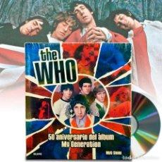 Libros de segunda mano: THE WHO 50 ANIVERSARIO ALBUM MY GENERATION. NUEVO PRECINTADO + REGALO. Lote 207600483