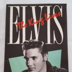 Libros de segunda mano: LIBRO / ELVIS: THE KING LIVES (INGLÉS) TAPA DURA – 1 MAYO 1990. Lote 207897180