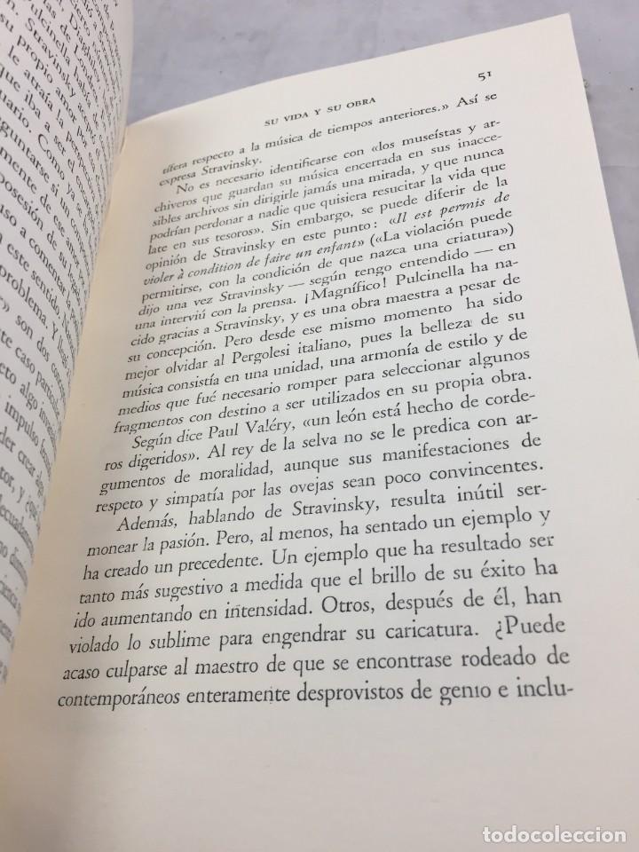 Libros de segunda mano: STRAVINSKY. FRANK ONNEN. EDITORIAL JUVENTUD . 1ª EDICION 1953 - Foto 8 - 208444238