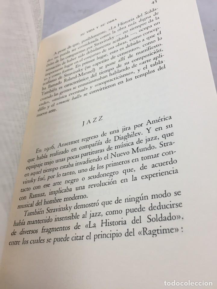 Libros de segunda mano: STRAVINSKY. FRANK ONNEN. EDITORIAL JUVENTUD . 1ª EDICION 1953 - Foto 9 - 208444238