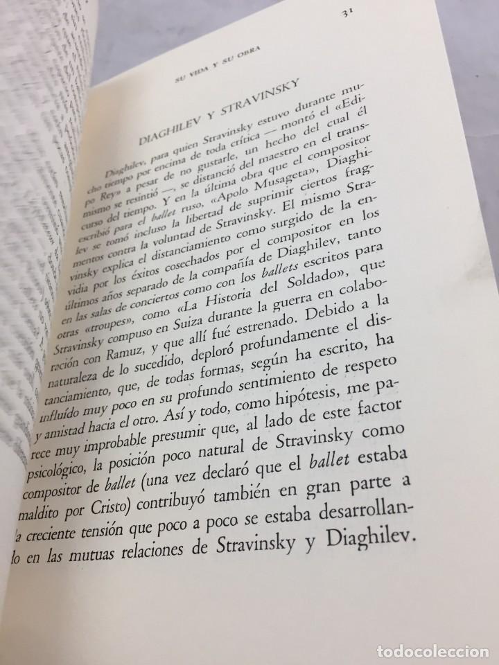 Libros de segunda mano: STRAVINSKY. FRANK ONNEN. EDITORIAL JUVENTUD . 1ª EDICION 1953 - Foto 10 - 208444238