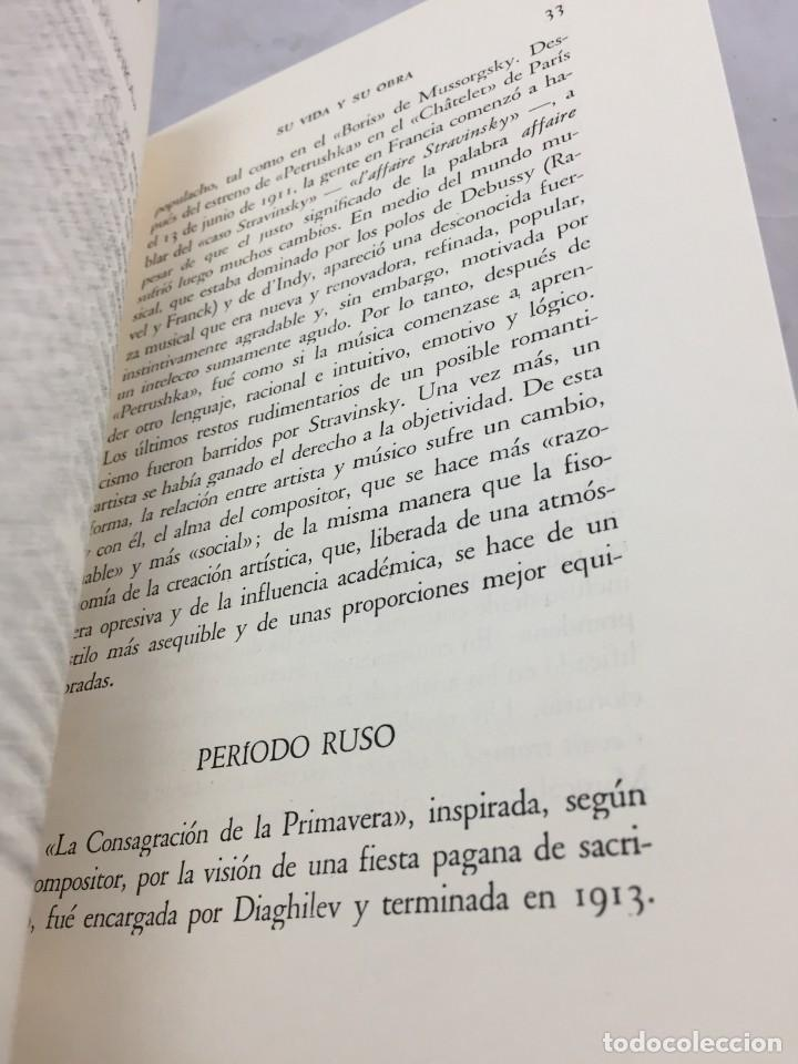 Libros de segunda mano: STRAVINSKY. FRANK ONNEN. EDITORIAL JUVENTUD . 1ª EDICION 1953 - Foto 11 - 208444238