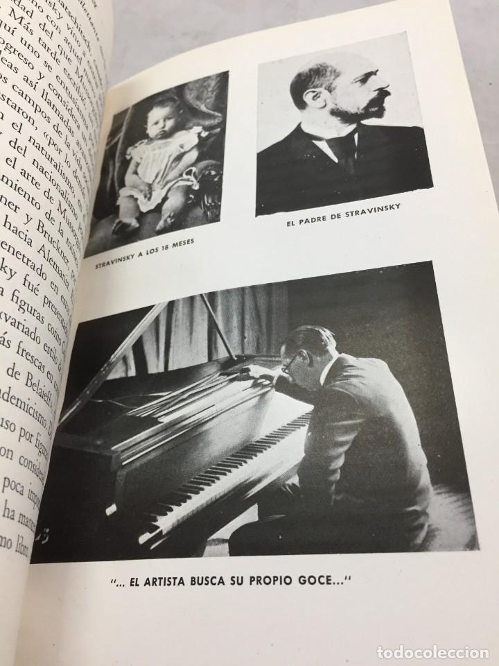 Libros de segunda mano: STRAVINSKY. FRANK ONNEN. EDITORIAL JUVENTUD . 1ª EDICION 1953 - Foto 13 - 208444238