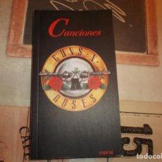 Libros de segunda mano: CANCIONES GUNS N´ROSES, ESPIRAL, NO TIENE FOTOS. Lote 209093287