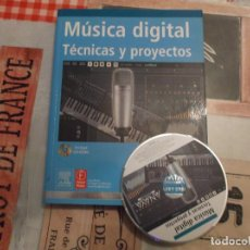 Libros de segunda mano: MUSICA DIGITAL ,TECNICAS Y PROYECTOS , ANAYA MULTIMEDIA ,CON CD-ROM, PAUL MIDDLETON, STEVEN GUREVITZ. Lote 209095268