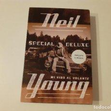 Libros de segunda mano: LIBRO NEIL YOUNG: MI VIDA AL VOLANTE. Lote 209190113
