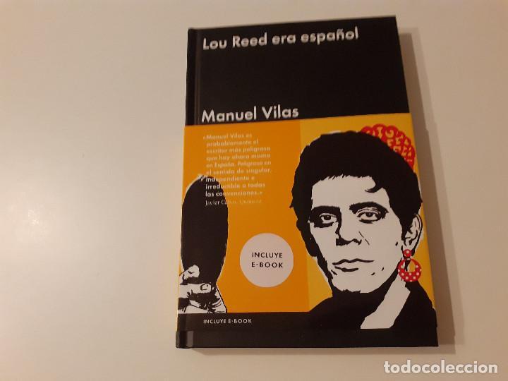 LOU REED ERA ESPAÑOL MANUEL VILAS (Libros de Segunda Mano - Bellas artes, ocio y coleccionismo - Música)