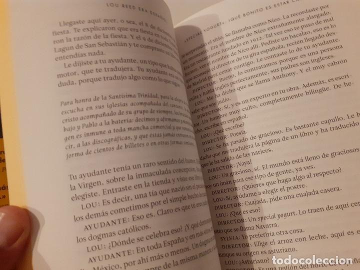 Libros de segunda mano: LOU REED ERA ESPAÑOL Manuel Vilas - Foto 2 - 209190340