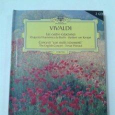 Libros de segunda mano: VIVALDI. LAS CUATRO ESTACIONES. CONTIENE 2 CDS. Lote 211461867