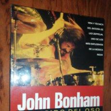 Libros de segunda mano: CHRIS WELCH / GEOFF NICHOLLS - JOHN BONHAM EL RUGIDO DEL OSO. Lote 211615269