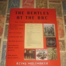 Libros de segunda mano: THE BEATLES AT THE BBC THE COMPLETE BBC FILES VOLUME 1 EXCELENTE CONDICION LEA DESCRIPCION. Lote 211881407