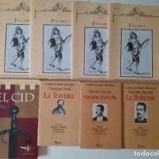 Libros de segunda mano: LOTE LA OPERA EN EL MUNDO - TRAVIATA - BUTTERFLY - BOHEME + EL CID EN TEATRO LA MAESTRANZA Y FIGARO. Lote 211975878