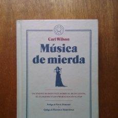 Libros de segunda mano: MUSICA DE MIERDA, CARL WILSON, BLACKIE BOOKS, 2016. Lote 213466731