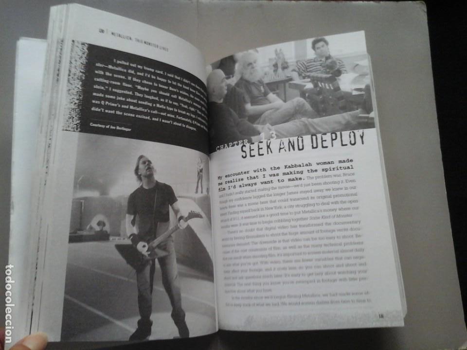 Libros de segunda mano: JOE BERLINGER / GREG MILNER. METALLICA. THIS MONSTERS LIVES. 1ª EDICIÓN 2005. ROBSON BOOKS. RARO. - Foto 4 - 213483708