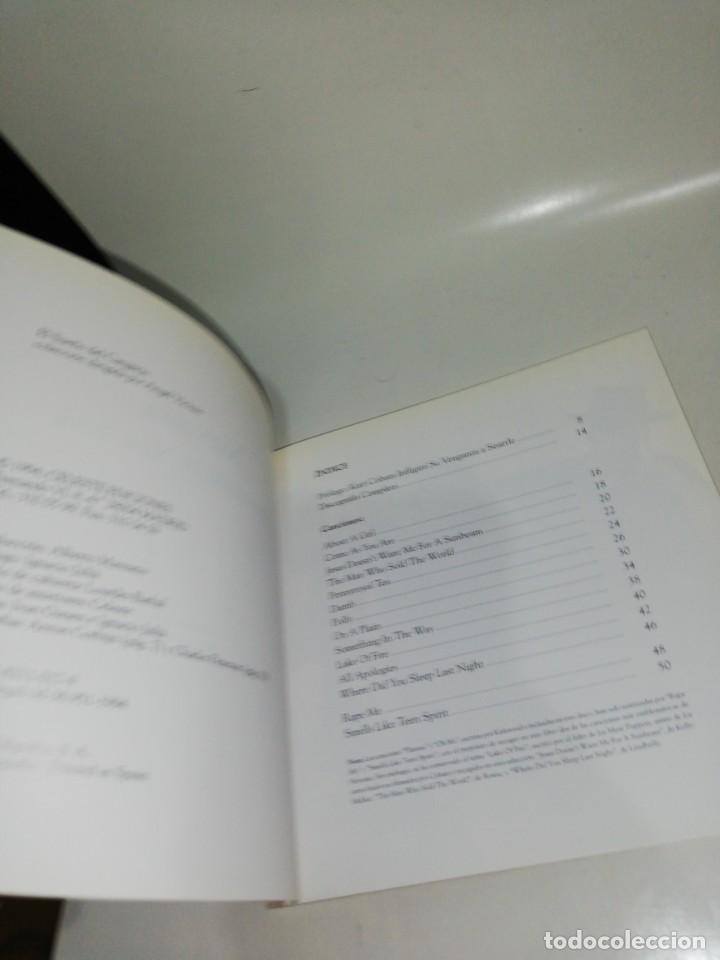 Libros de segunda mano: Nirvana , letras unplugged in New York - Foto 3 - 213590395
