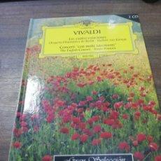 Libros de segunda mano: VIVALDI. LAS CUATRO ESTACIONES. HISTORIA DE LA MUSICA CLASICA. NO CONTIENE DISCO.. Lote 213772233