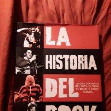 Libros de segunda mano: LA HISTORIA DEL ROCK. PARRAGÓN. LA GUIA DEFINITIVA DEL ROCK, EL PUNK, EL METAL...EXCELENTE ESTADO.. Lote 214421877