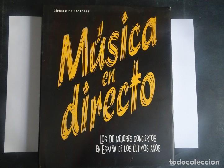 MÚSICA EN DIRECTO, LOS 100 MEJORES CONCIERTOS EN ESPAÑA DE LOS ÚLTIMOS AÑOS, VER FOTOS (Libros de Segunda Mano - Bellas artes, ocio y coleccionismo - Música)
