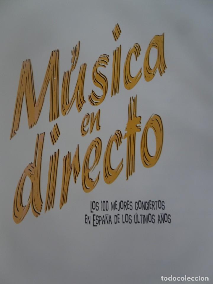 Libros de segunda mano: MÚSICA EN DIRECTO, LOS 100 MEJORES CONCIERTOS EN ESPAÑA DE LOS ÚLTIMOS AÑOS, VER FOTOS - Foto 3 - 215738057
