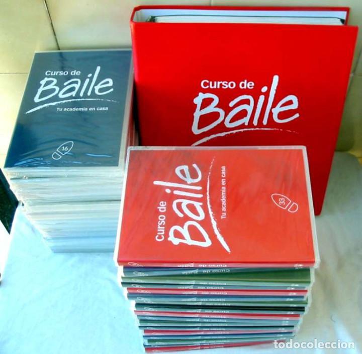 CURSO DE BAILE - 33 DVDS + ARCHIVADOR FICHAS + REGALO APARATO DVD-VIDEO - VER DESCRIPCIÓN Y FOTOS (Libros de Segunda Mano - Bellas artes, ocio y coleccionismo - Música)